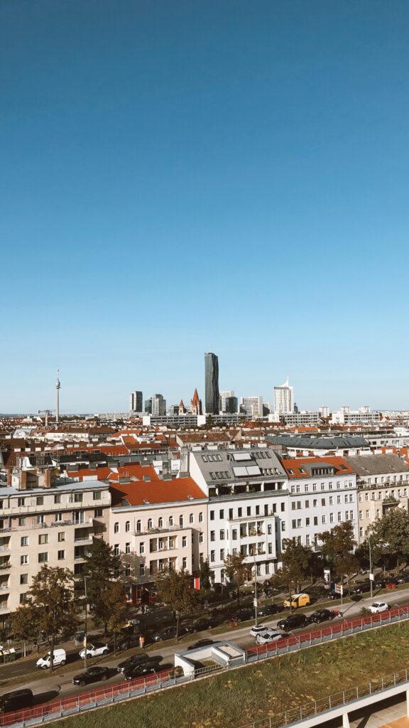 Widok na Wiedeń z młynu
